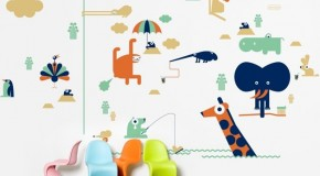 Carta da pareti: adesivi murali