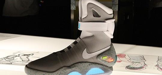 Le scarpe di Marty McFly oggi sono realtà