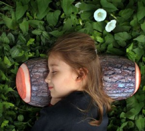 Cuscino di legno