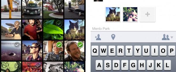 Facebook Camera: scatta, tagga, carica