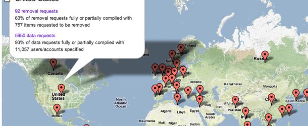 Google: Rapporto sulla Trasparenza