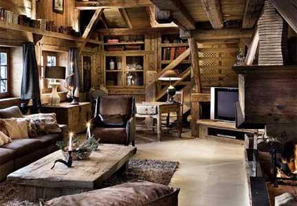 Arredamento per la casa in montagna risorseonline for Arredamenti case bellissime