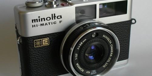 Minolta, macchine fotografiche spaziali!