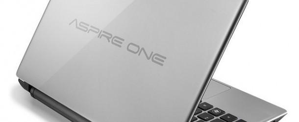 Aspire One 756, l'ultimo netbook di casa Acer
