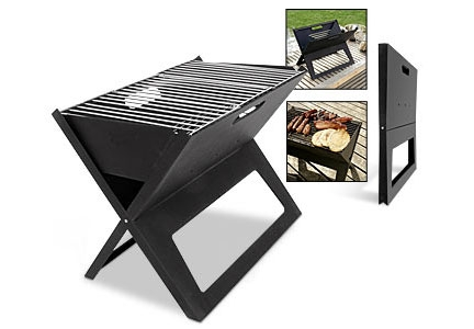 Barbecue a gas da campeggio portatile e pieghevole - Barbecue a gas portatile ...