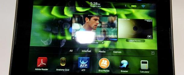 blackberry playbook 4g lte, il nuovo tablet di rim