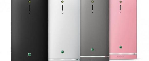 sony xperia sl: lo smartphone sony con android 4.0
