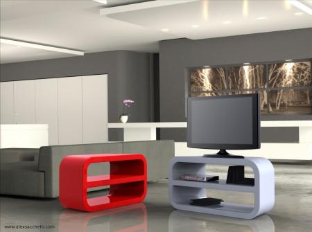 Mobili porta tv indispensabili in casa risorseonline - Staffe porta tv meliconi ...