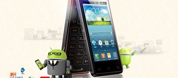 samsung SCH-w2013, lo smartphone dal doppio display touch
