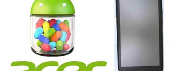 acer v360, lo smartphone con jelly bean