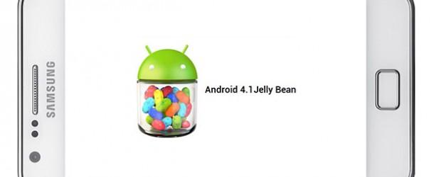 Samsung Galaxy S II: aggiornato a Jelly Bean