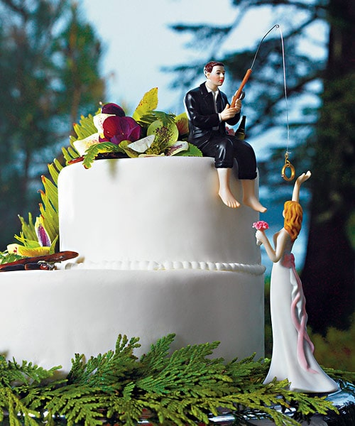 funny wedding cake toppers car tuning