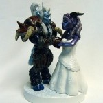 monsters cake topper