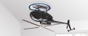 upsidedown ventilatore da soffitto
