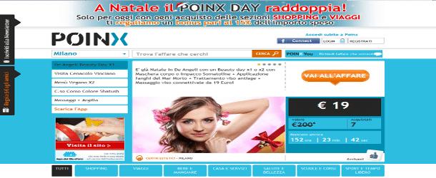 Poinx.it: il nuovo sito di Coupon on line!