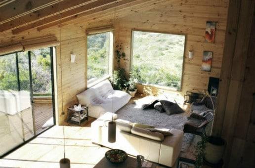 La magia di una casa in legno